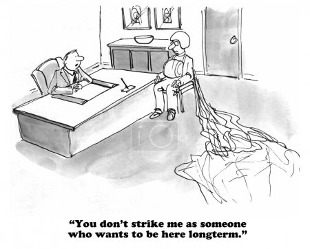 Negative Job Interview