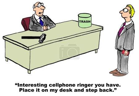 Annoying Cell Phone Ringer