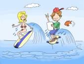 Tablet surfer