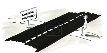 Change highway