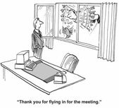 Thanks for flying in for the meeting