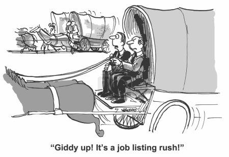 Jobs listing rush