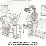 Technology social media video...
