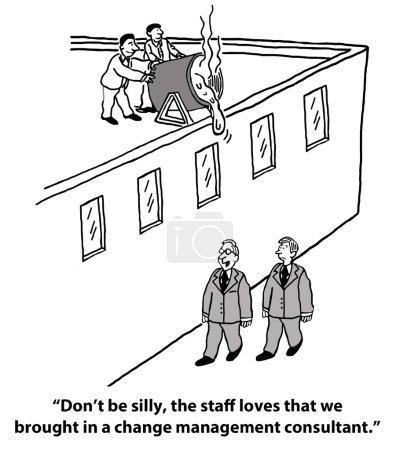 Change management consultant...