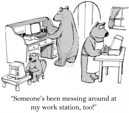 Three bears have been hacked