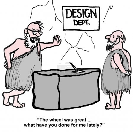 Wheel was a great design