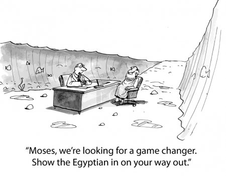 Moses is not game changer