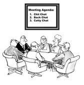 Meeting Agenda is to be chatty