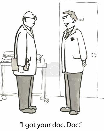 I got your doc, Doc.
