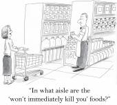 Foods that do not kill