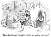 Pre historic egg hunt