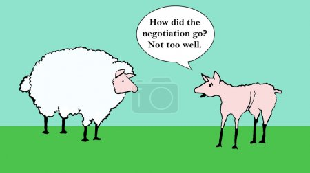 Negotiation did not go well.