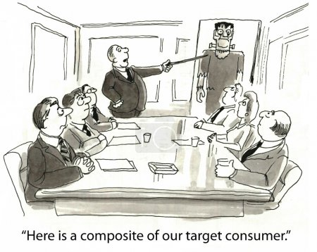 'Here is a composite of our target consumer.'