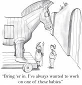 I've always wanted to work on horse