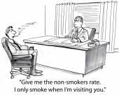 Non smoker rate