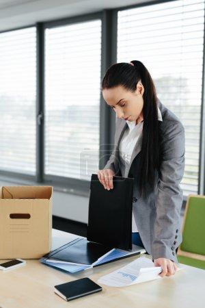 Female worker made redundant