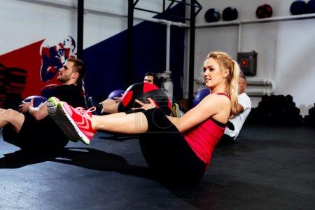 Fitness group training
