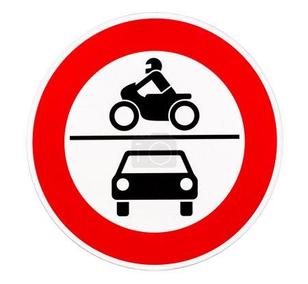 Keine Zufahrt für Kraftfahrzeuge Verkehrszeichen