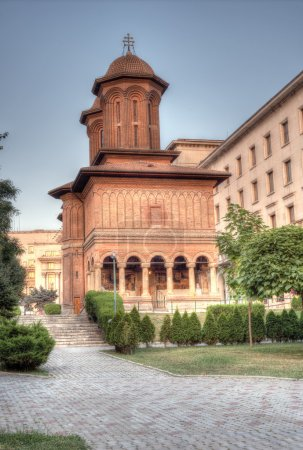 Kretzulescu Church in Bucharest