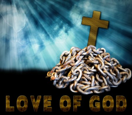 Religious Concept - Chains - Love of God