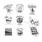 Vintage emblémák tervezése