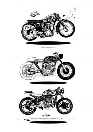 design vintage motorcycles