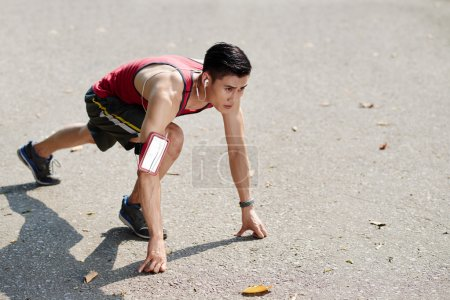 Vietnamese young runner