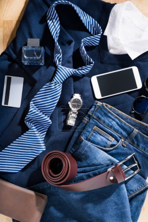 Male clothing and accessories