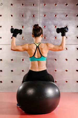 Exercises with hand weights