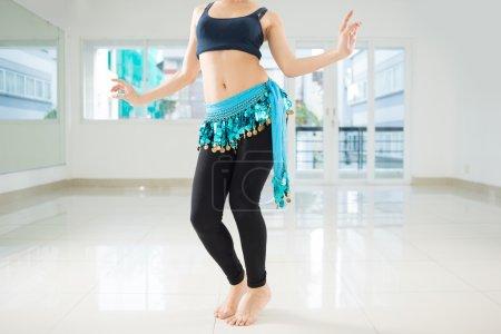 Eastern belly dancer