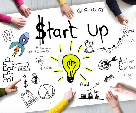 Start Up Business Conept
