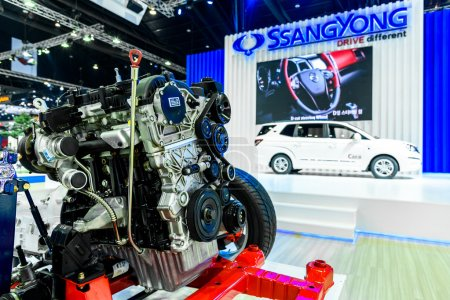 Engine of SsangYong