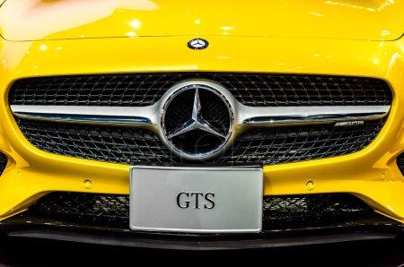 The Mercedes Benz GTS
