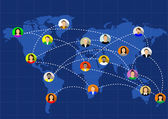 social networks unite the world