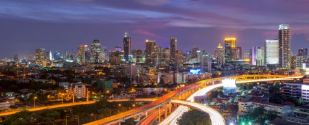 Bangkok's business district