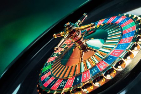 Roulette wheel background