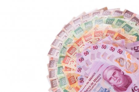 Mexican money background