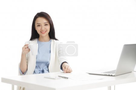 Young women in business