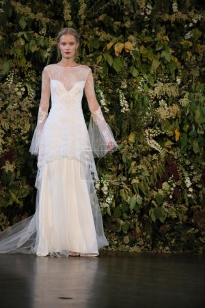 Claire Pettibone Fall 2015 Bridal Collection Show
