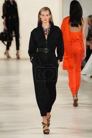 Ralph Lauren during Mercedes-Benz Fashion Week