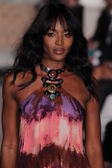 Naomi Campbell at the Emilio Pucci show