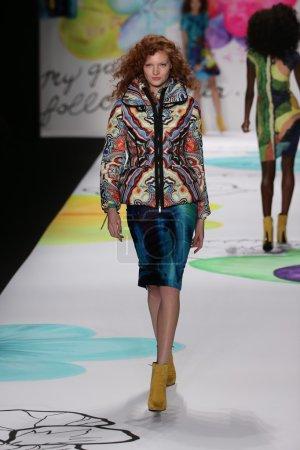 Desigual fashion show during Mercedes-Benz Fashion Week