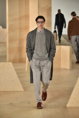 Perry Ellis collection during New York Fashion Week