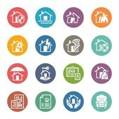 Home Insurance Icons - Dot Series