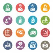 Medical & Health Care Services Icons Set 1 - Dot Series