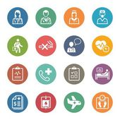 Medical & Health Care Services Icons Set 2 - Dot Series