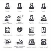 Medical Services Icons Set 1 - Sympa Series | Black