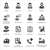 Medical Services Icons Set 3 - Sympa Series | Black