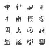 Business Management Icons - Set 1
