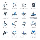 This set contains health conditions & diseases medical specialties icons that can be used for designing and developing websites as well as printed materials and presentations